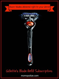 Gillette Razor Subscription Service